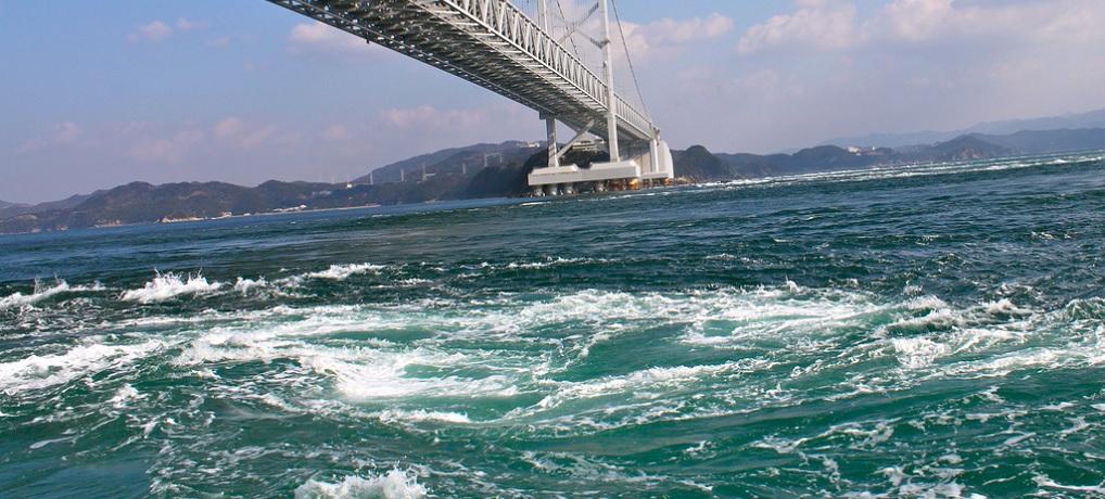 淡路島 鳴門の渦潮と温泉